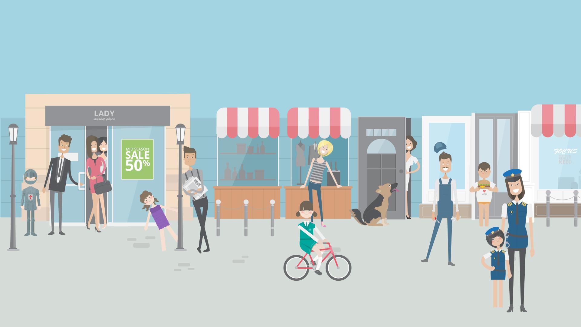 winkelstraat-video